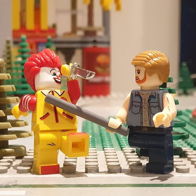 Chuck Norris vs. IT@itmovieofficial #lego #chucknorris #itmovie